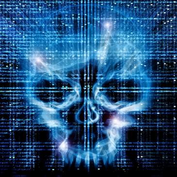 hacker attack background